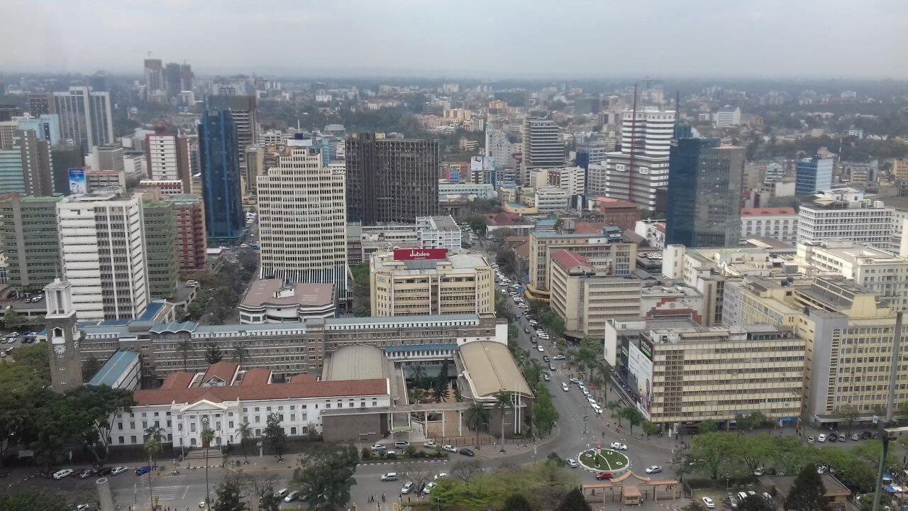 Nairobi-látkép-üzleti-negyed