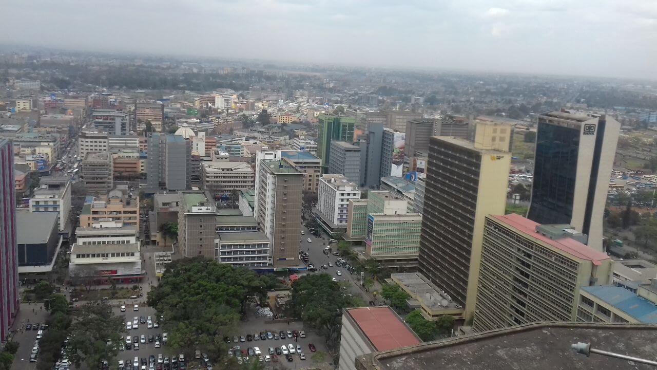 Nairobi-látkép