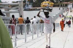 Úszóhíd Mombasában 4